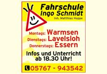 Fahrschule Ingo Schmidt - Inhaber Matthias Hoppe