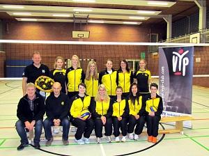 Neue Trainingsanzüge für Warmsens Volleyballerinnen